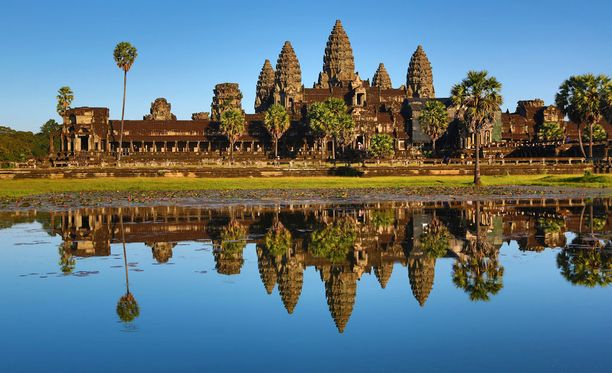 Angkorin kuulu temppelialue.