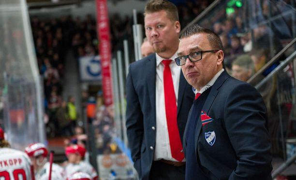 Ari-Pekka Selin ei ollut tyytyväinen omiensa esitykseen.