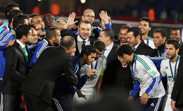 Raja Casablanca pelasi seurajoukkueiden MM-finaalissa 2013.