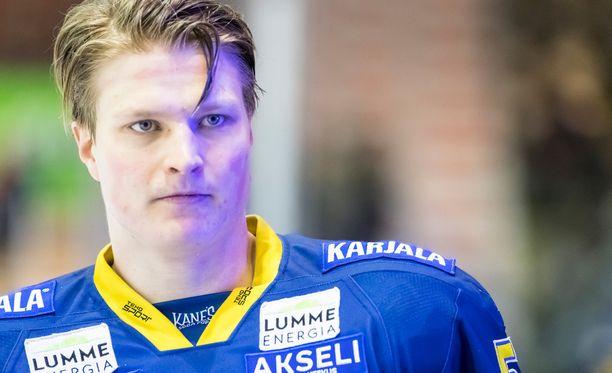 Valtteri Hietanen sai ison pelikiellon.