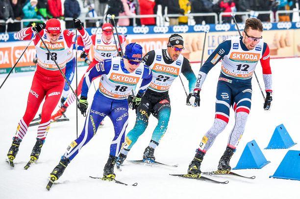Lauri Vuorinen antoi möhläyksestään huolimatta kelpo näytöt MM-valintaa ajatellen.