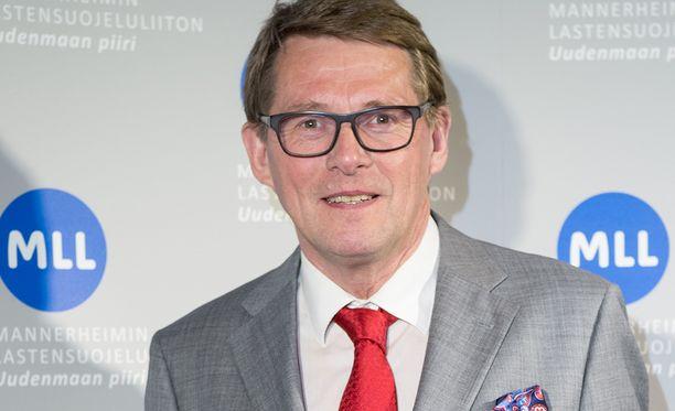 Kansanedustaja Matti Vanhanen (kesk) on keskustan presidenttiehdokas ensi vuoden vaaleissa.