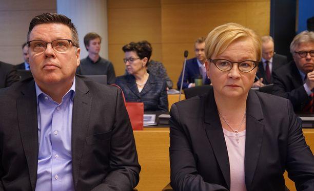 - Epäselvissä tilanteissa asia pitää ratkaista syytetyn eduksi, Jari Aarnion asianajaja Riitta Leppiniemi korostaa.