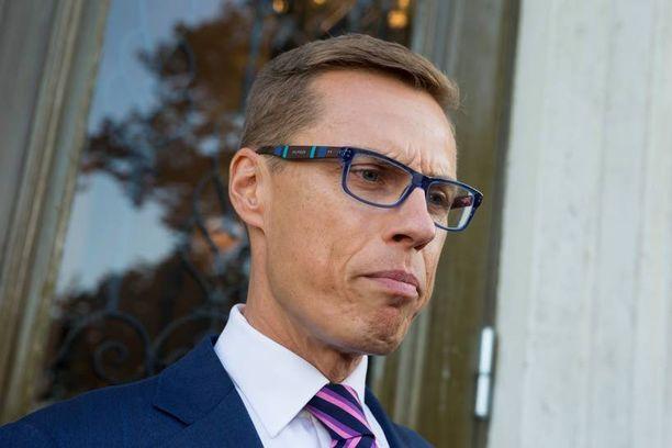 Pääministeri Alexander Stubb (kok) aikoo hallita maata huhtikuun eduskuntavaaleihin saakka.