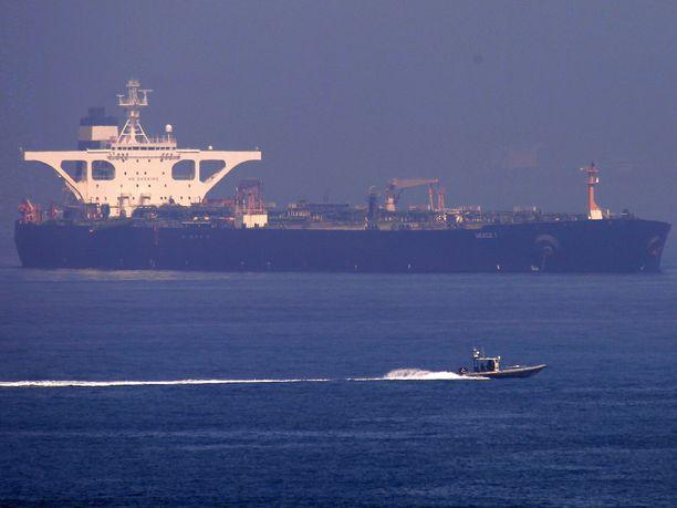 Yhdysvallat haluaa iranilaisen Grace 1 -öljytankkerin takavarikoitavaksi.