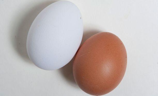 Raakoja kananmunia ei parane syödä.