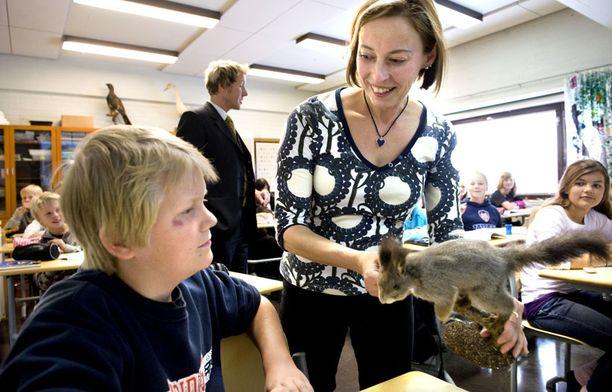 Pisa-tutkimuksessa nuorten osaamista verrataan muun muassa luonnontieteissä.