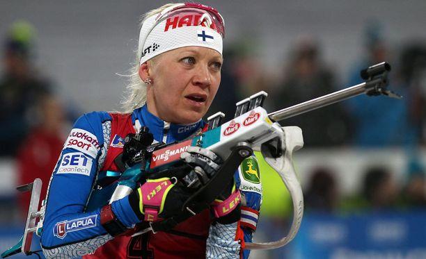 Kaisa Mäkäräinen oli Östersundin normaalimatkalla 11:s.