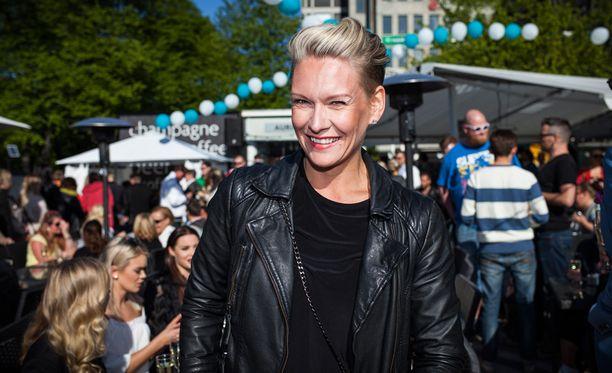 Heidi Sohlberg kotiutui sairaalasta.