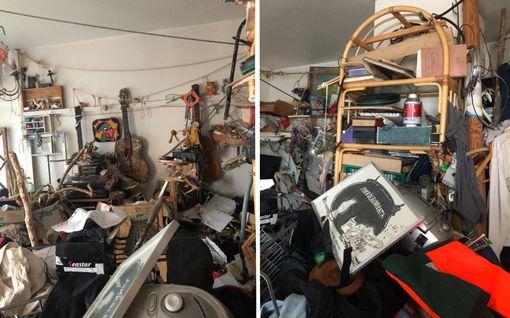 Kun vuokralainen kuoli, omistajalle paljastui asunnon järkyttävä tila – kodista kannettiin ulos jopa puunrunkoja ja kiviä