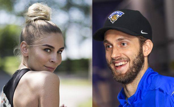 Kira Kosonen ja Petteri Lindbohm ovat komea pari.