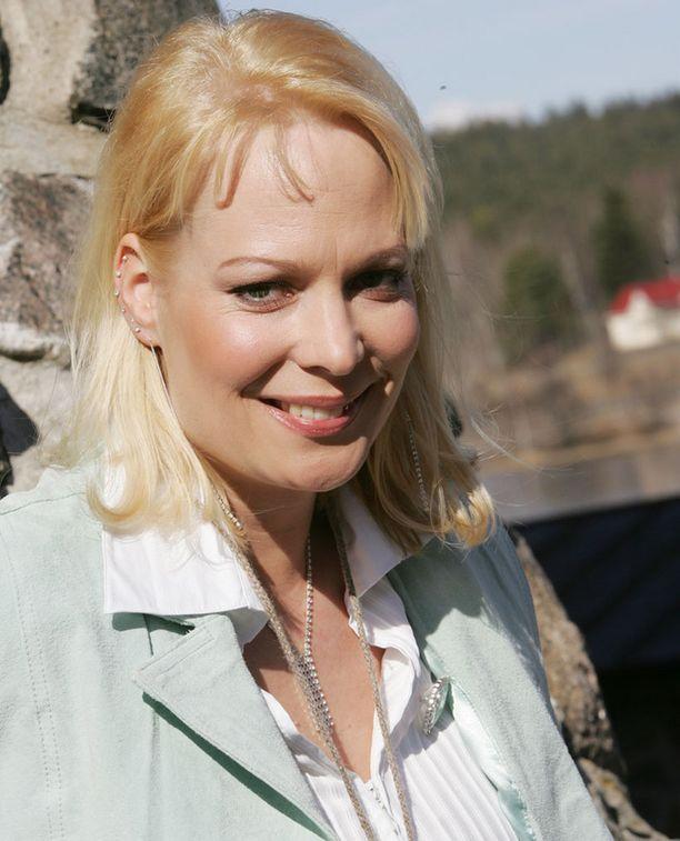 Susanna Ruotsalainen kilpaili Suuri seikkailu -ohjelmassa vuonna 2005.
