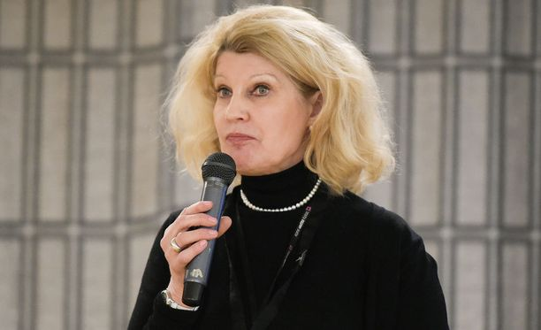 Kelan pääjohtaja Elli Aaltonen.