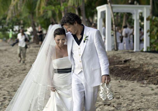 Shania Twainin ja Frederic Thiebaudin häitä vietettiin vuonna 2011 Puerto Ricossa.