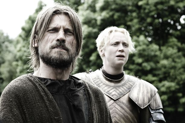 Jaime Lannisterin ja Briennen yhteinen taival ei alkanut aurinkoisissa merkeissä.