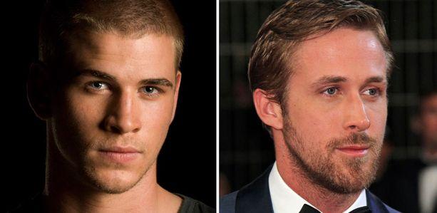 Liam Hemsworth ja Ryan Gosling ylsivät myös kärkisijoille.