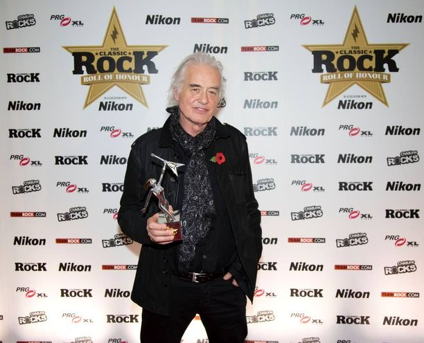 Syytetty: kitaristi Jimmy Page.