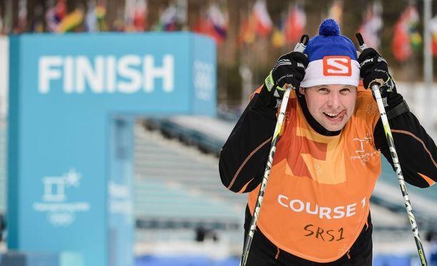 Iltalehden testiukko oli ihan finaalissa kierrettyään 20 kilometriä vapaalla etenemistavalla Pyeongchangin olympialaduilla.