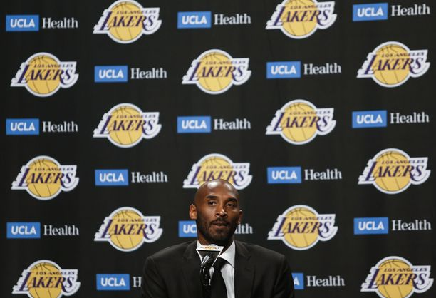 Kobe Bryant tienasi 770 miljoonaa dollaria.