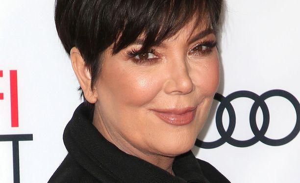 Kris Jenner on tunnettu seurapiiritähti.
