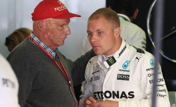 Valtteri Bottas on tehnyt suuren vaikutuksen Niki Laudaan.