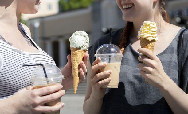 Järjestö kysyi riskiraaka-aineista seitsemältä jäätelönvalmistajalta.