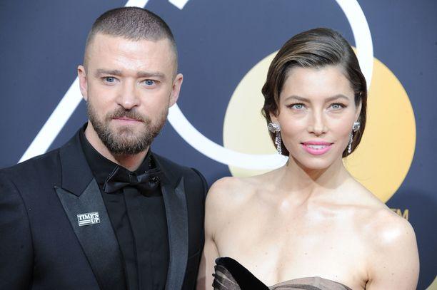 Justin Timberlake ja Jessica Biel.