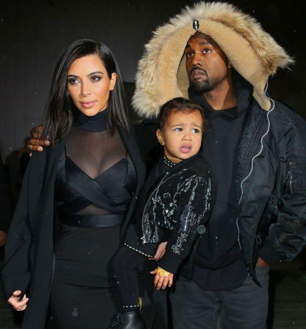Kimillä ja Kanyella on kesäkuussa 2013 syntynyt North-tytär.