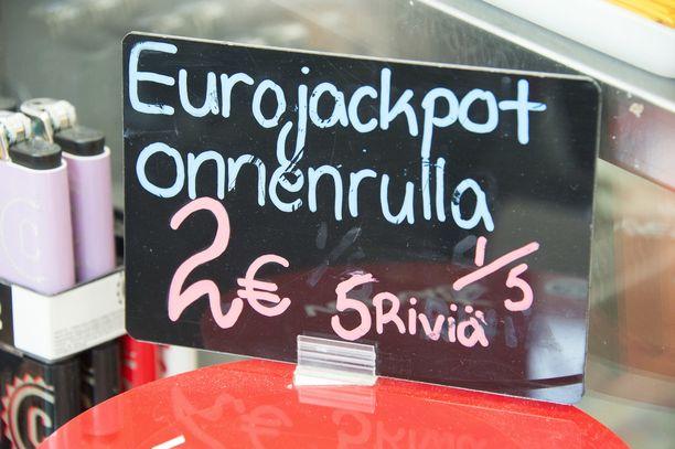 Eurojackpotin päävoitto ei pudonnut 3. huhtikuuta.