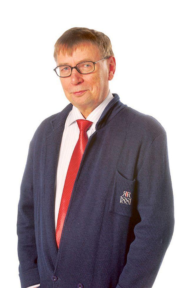 Seppo Hyrkäs kuvattuna vuonna 2005.