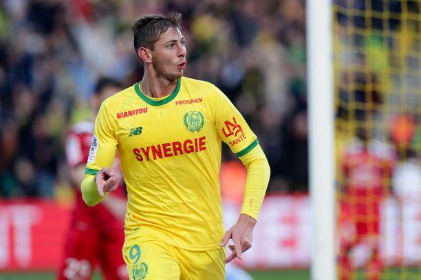 Emiliano Sala ehti tehdä Nantes-paidassa 12 maalia tämän kauden Ligue 1 -peleissä.