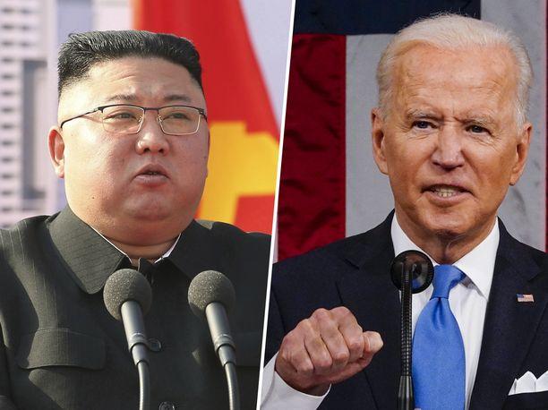 Pohjois-Korean väittää presidentti Joe Bidenin loukanneen Kim Jong-unia.