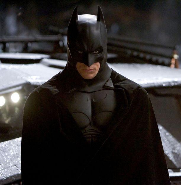 Christian Bale teki Batmanistaan todella synkän hahmon.