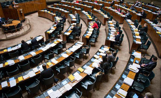Eduskunta aloitti budjettiäänestykset tänään keskiviikkona.
