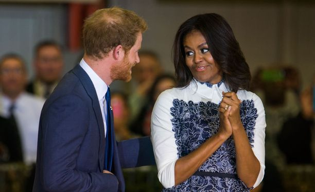 Kaikesta päätellen prinssi Harryn jenkkivierailu oli onnistunut.