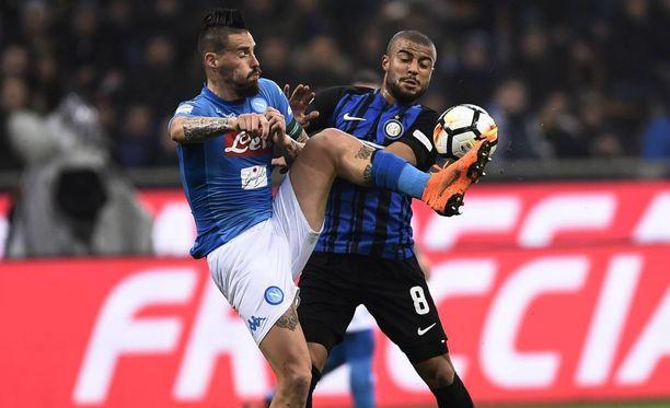 Inter Milan ja Napoli väänsivät jälleen 0-0-tasapelin Serie A:ssa.