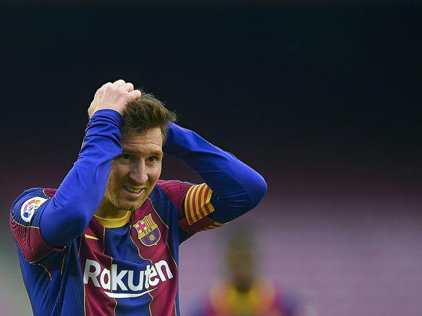 Lionel Messiä ei enää nähdä Barcelonan paidassa.
