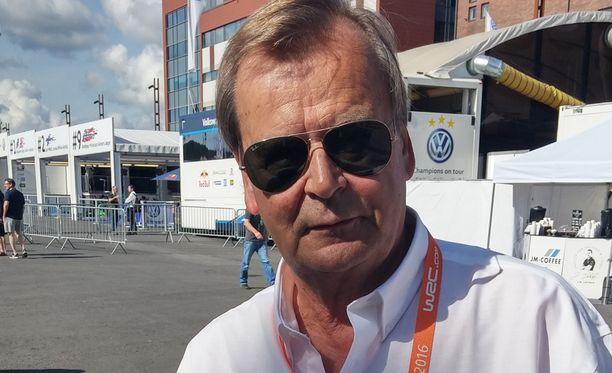 Markku Alén (kuvassa) ymmärtää Sebastien Ogierin tuskan.