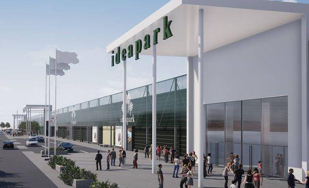Lehto Groupin mukaan uuden Ideaparkin avajaisia vietetään Seinäjoella marraskuussa 2019.