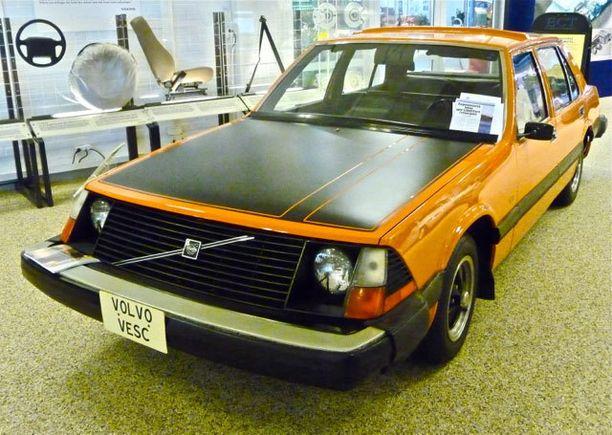 Volvo Vesc esitteli monia edistyksellisiä turvaratkaisuja.