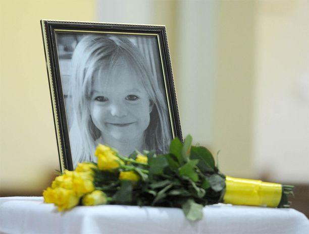 Madeleine McCann katosi Algarvessa 3. toukokuuta 2007