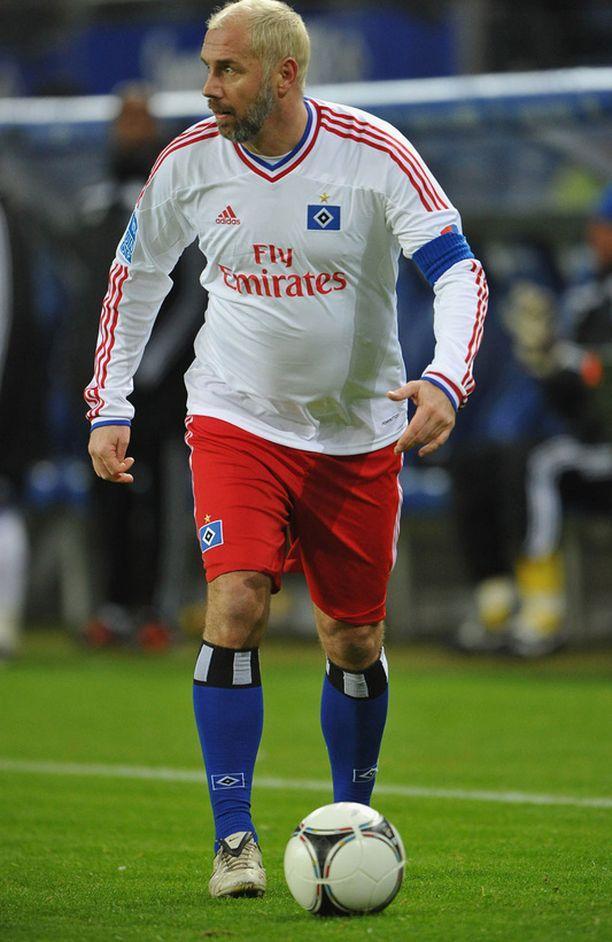 Kolme vuotta sitten uransa päättänyt laituri Sergej Barbarez edusti HSV:n tähdistöjoukkuetta.