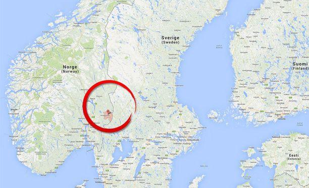 Kaksi tyttöä siepattiin Kongsvingerissä lähellä Norjan ja Ruotsin rajaa.