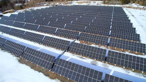 Sipoon logistiikkakeskukset ovat S-ryhmän suurin yksittäinen aurinkosähkön tuottaja ja käyttäjä.