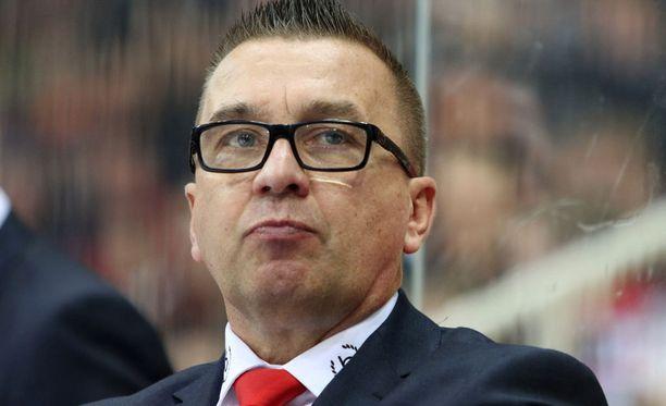 Ari-Pekka Selin oli tyytyväinen HIFK:n ilmeeseen.