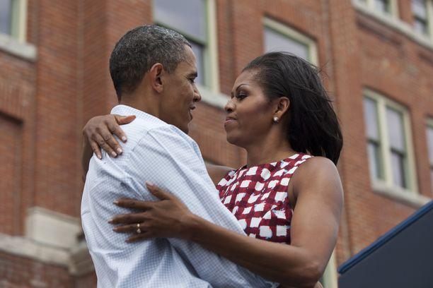 Barack ja Michelle Obama ovat olleet naimisissa vuodesta 1992.