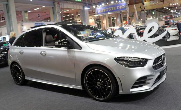 Uusi B-sarjan Mercedes on kasvanut irti A-sarjasta.