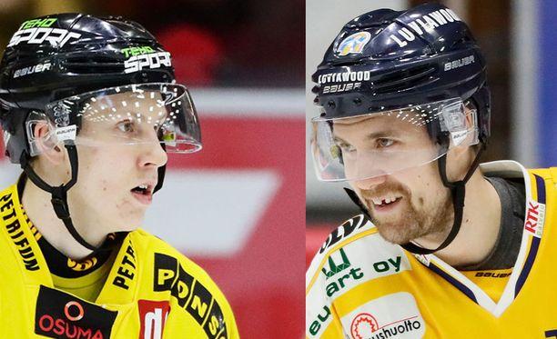 Niko Mikkola ja Ilmari Pitkänen joutuivat kurinpidon syyniin.