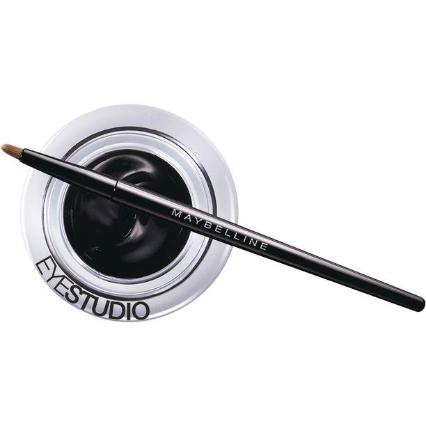 Maybelline Eye Studio Lasting Drama Gel Liner –silmänrajausgeelillä taiteilet intensiivisen katseen, 13,50 e