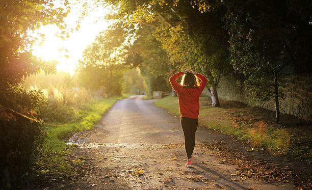 Jo reipas kävely käy hyvästä liikunnasta.